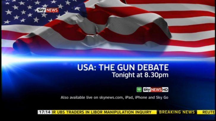 Sky News U.S. Gun Control Debate