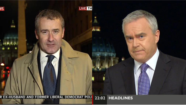 Colin Brazier and Huw Edwards