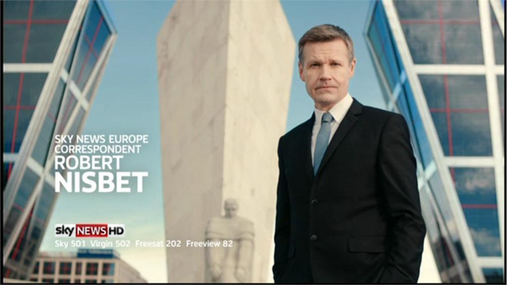 Robert Nisbet, Europe Correspondent – Sky News Promo 2013