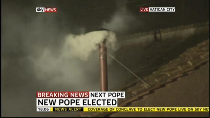 Pope Francis: How the news channels broke the news