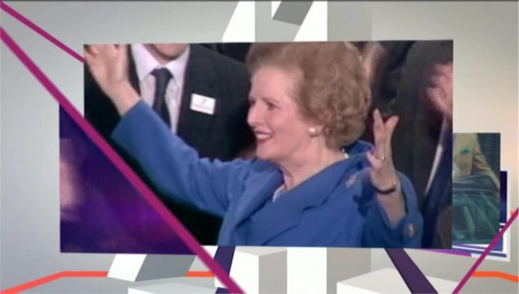 Channel 4 News openers on the day Baroness Thatcher dies