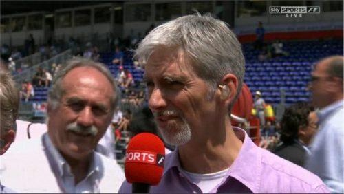 Damon Hill - Sky Sports F1 (3)