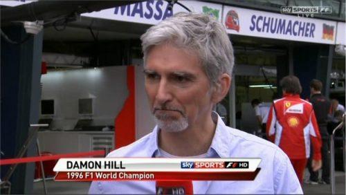 Damon Hill - Sky Sports F1 (6)