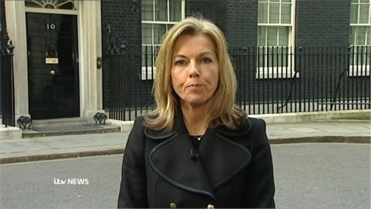 Thatcher Dies: Mary Nightingale presents ITV News at 6.30 from Downing Street