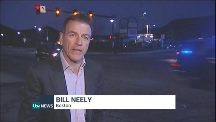 ITV Bill Neely in Boston