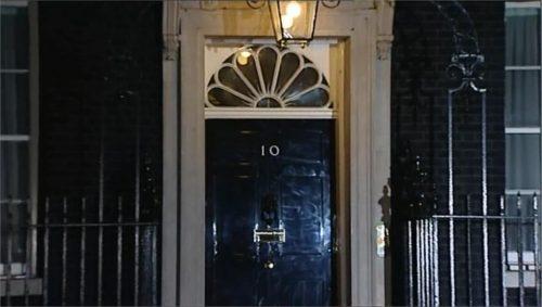 Margaret Thatcher dies - ITV News 2200 close 04-08 22-53-42
