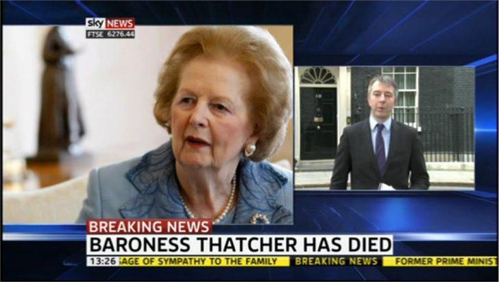 Sky's Joey Jones remembers 'Thatcher's Britain'
