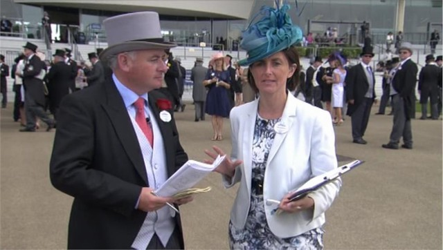 Tanya Stevenson - Royal Ascot 2014 - Channel 4 Racing (2)