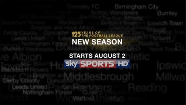 Football League – Sky Sports Promo 2013