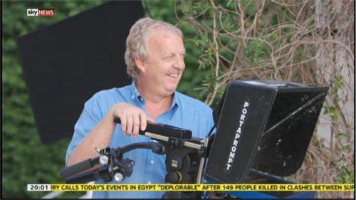 Mick Deane - Sky News Camerman - Images (2)