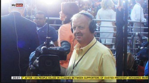 Mick Deane - Sky News Camerman - Images (3)