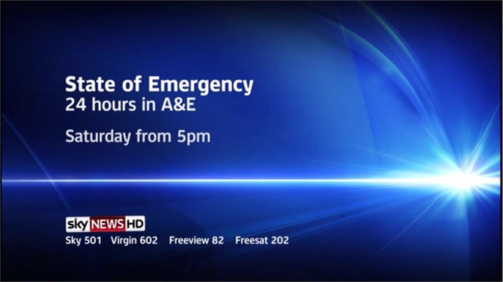 State Of Emergency – Sky News Promo 2013