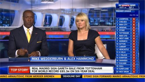 Sky Sports News 2013 - Transfer Deadline Day - Mike and Alex open 09-02 09-28-22