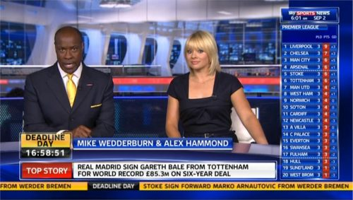 Sky Sports News 2013 - Transfer Deadline Day - Mike and Alex open 09-02 09-28-24