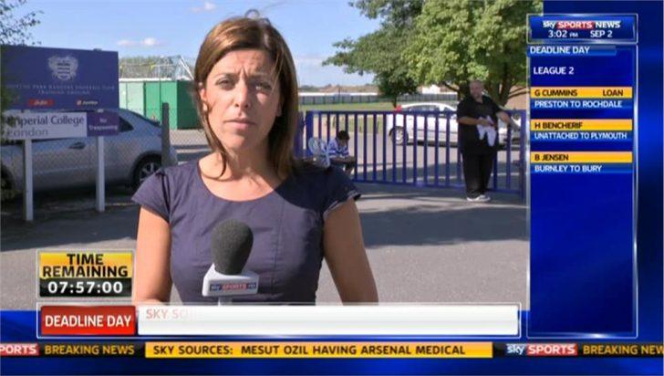 Deadline Day 2013: Gail Davis Reporting on Queens Park Rangers