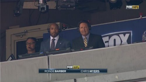Chris Myers - NFL on Fox Sports Commentator (1)