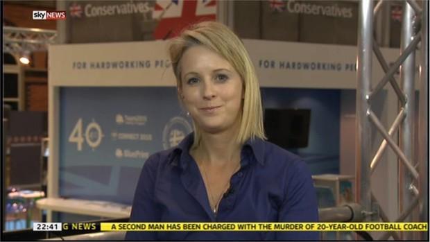 Isabel Oakeshott - Sunday Times Politcal Editor on Sky News (1)