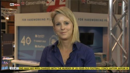 Isabel Oakeshott - Sunday Times Politcal Editor on Sky News (3)