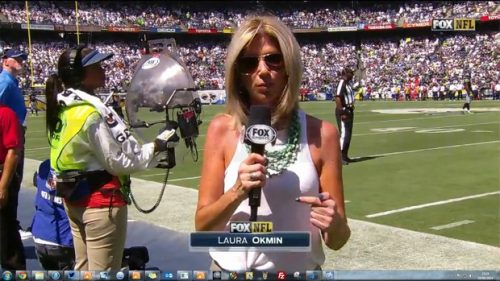 Laura Okmin - NFL on Fox - Sideline Reporter (6)