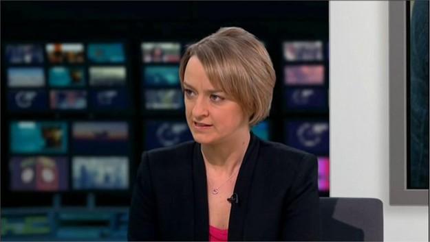ITV's Laura Kuenssberg joins BBC Newsnight