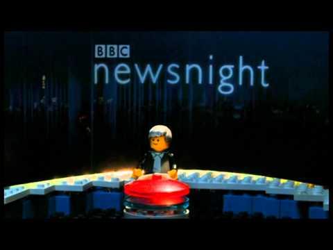 BBC Newsnight Goes Lego