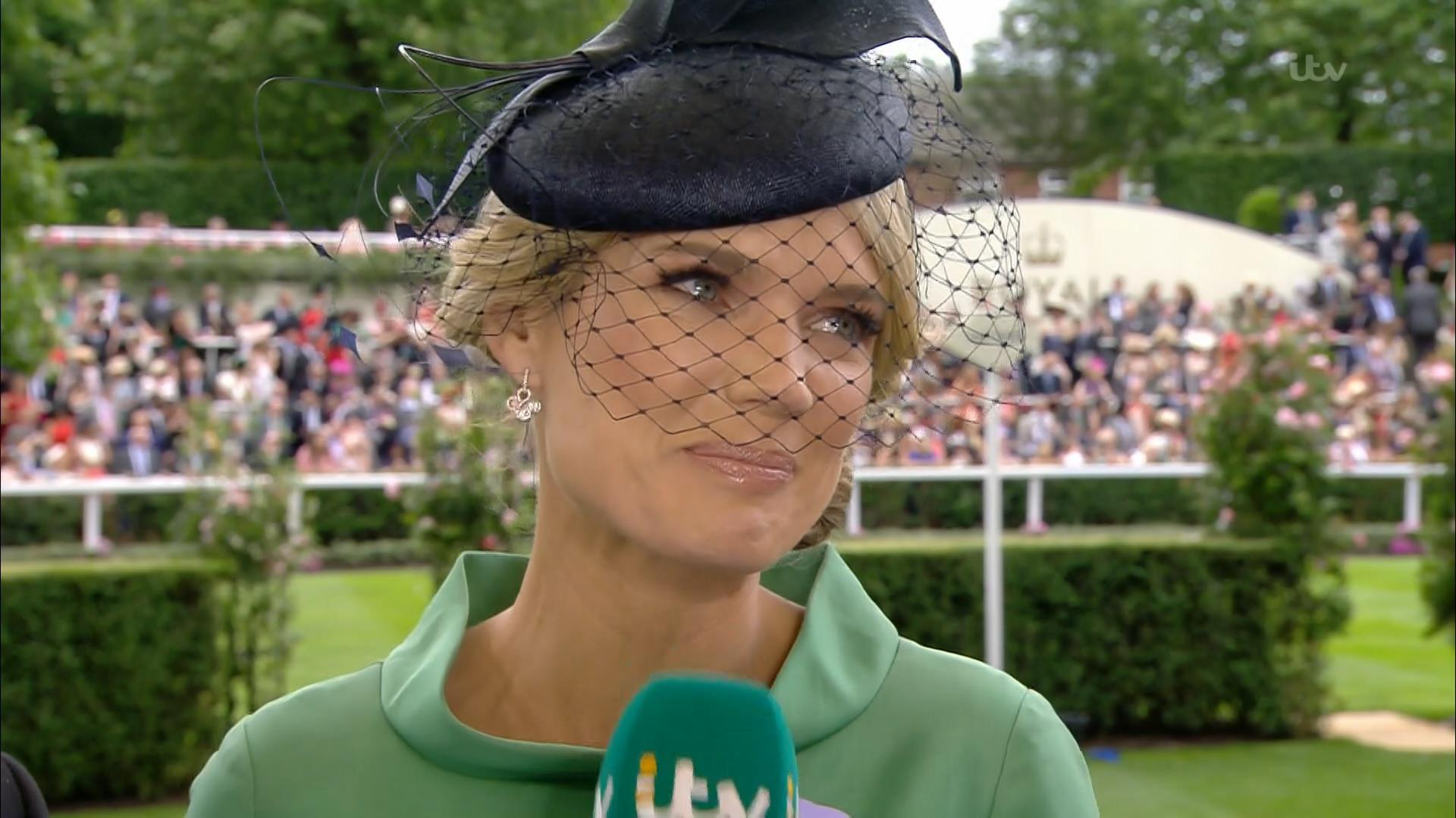 Charlotte Hawkins - ITV Royal Ascot 2018