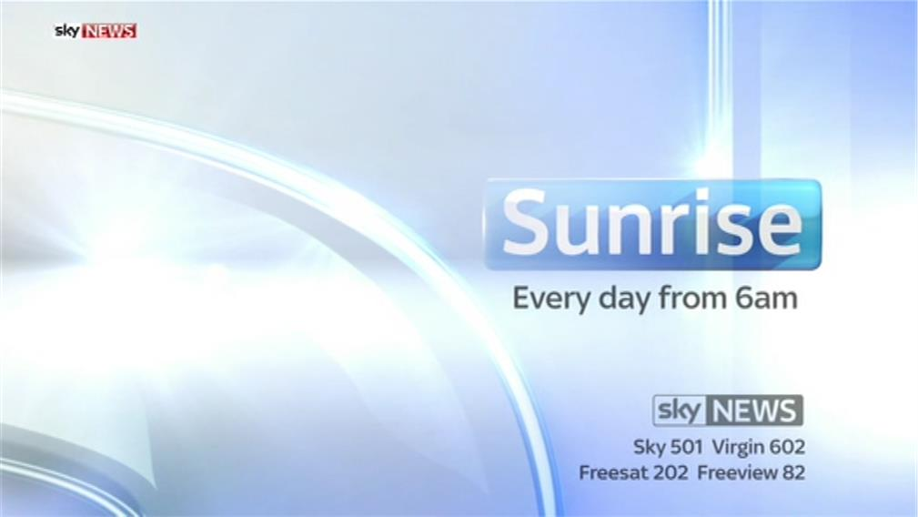 Sunrise – Sky News Promo 2014