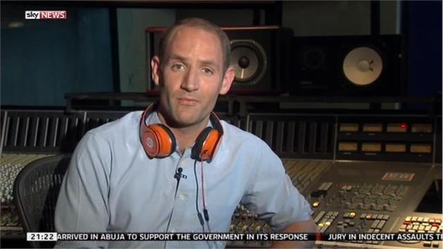 Tom Cheshire named Sky's new Asia Correspondent