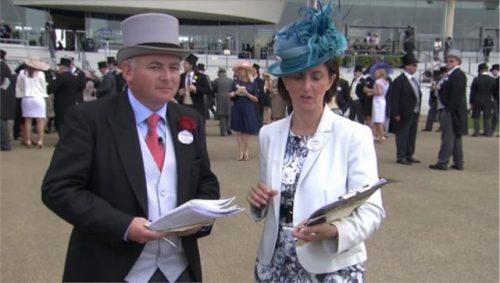 Brian Gleeson - Royal Ascot Channel 4 Racing (1)