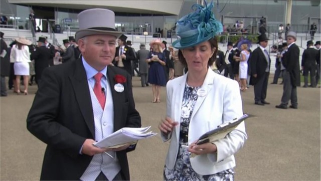 Brian Gleeson - Royal Ascot Channel 4 Racing (1)