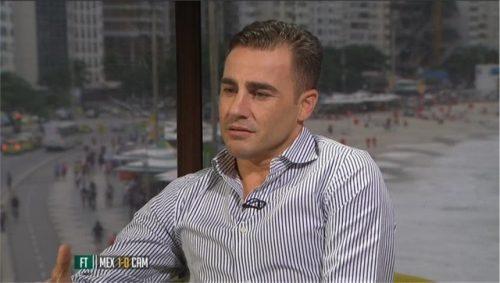 Fabio Cannavaro - ITV Football - World Cup 2014 (1)