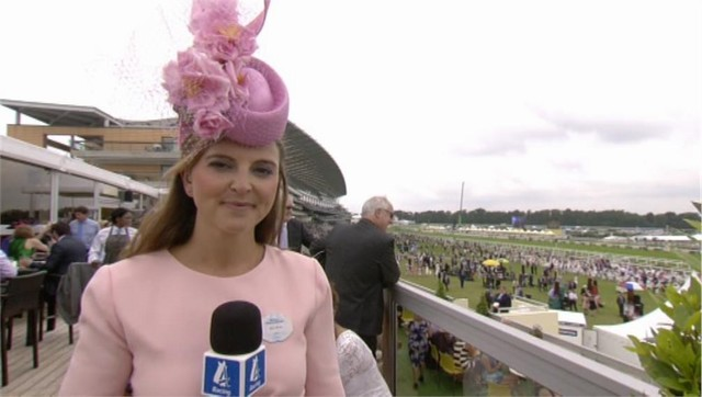 Gina Harding-Bryce - Royal Ascot Channel 4 Racing (1)