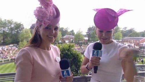 Gina Harding-Bryce - Royal Ascot Channel 4 Racing (4)