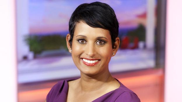 Naga Munchetty replaces Susanna Reid on BBC Breakfast