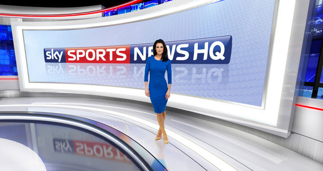 Sky Sports News to relaunch new studio on Channel 401