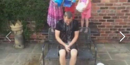 Dan Walker - Ice Bucket Challenge