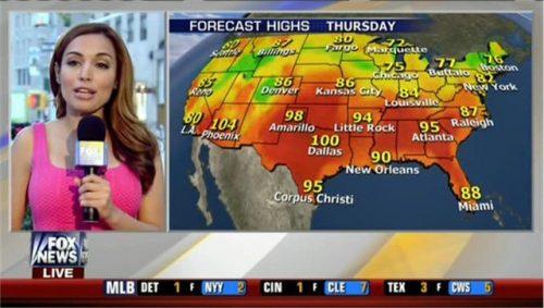 Maria Molina - Fox News Weather Presenter (2)