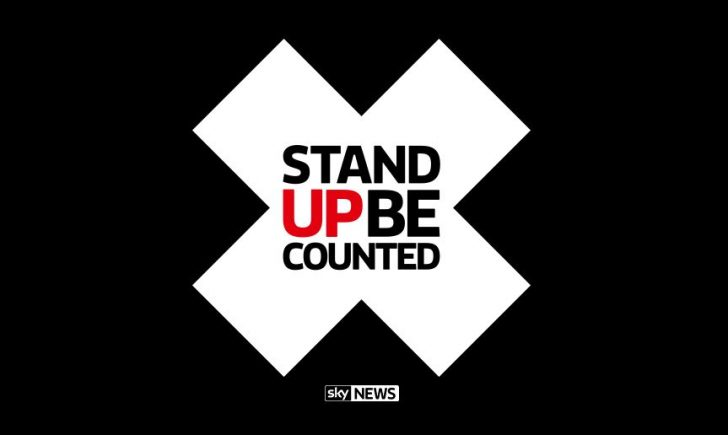 Sky News Stand Up Be Counted
