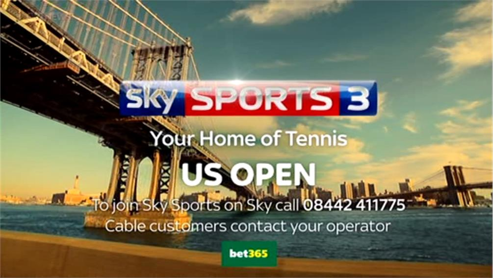 US Open 2014 – Sky Sports Tennis Promo