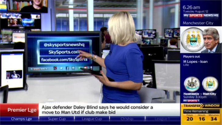 Sky Sports News HQ 2014 – Presentation (49)
