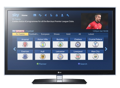 Sky Sports to launch every Premier League club On Demand