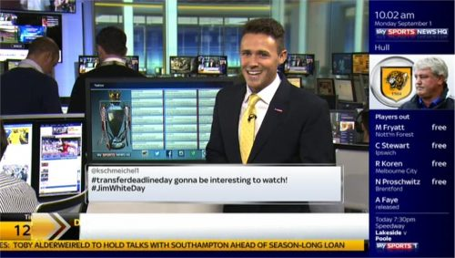 Adam Leventhal and Tom White - Sky Sports News HQ (3)