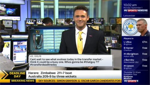 Adam Leventhal and Tom White - Sky Sports News HQ (4)
