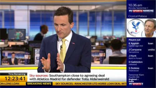 Adam Leventhal and Tom White - Sky Sports News HQ (5)