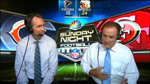 Al Michaels - NFL on NBC Commentator - Sunday Night Football (2)