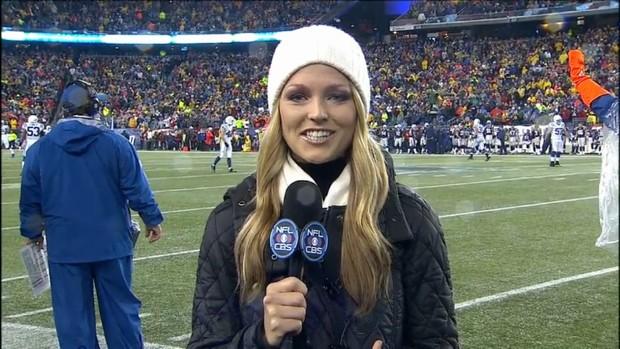 Allie LaForce - NFL on CBS (2)
