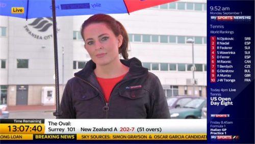 Amy Lewis - Sky Sports News HQ (2)