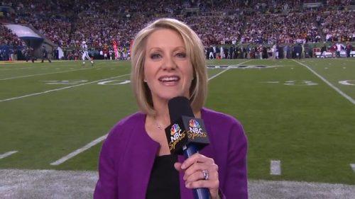 Andrea Kremer - NFL on NBC - Sildeline Reporter (1)
