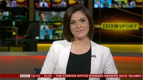 Eilidh Barbour - BBC News Sports Presenter (1)