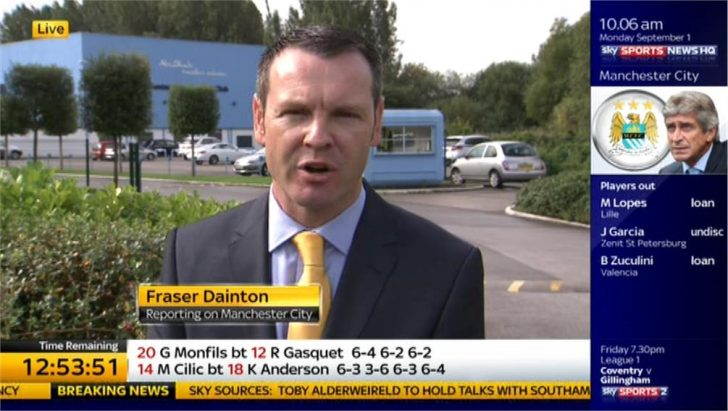 TDD14: Fraser Dainton – Manchester City